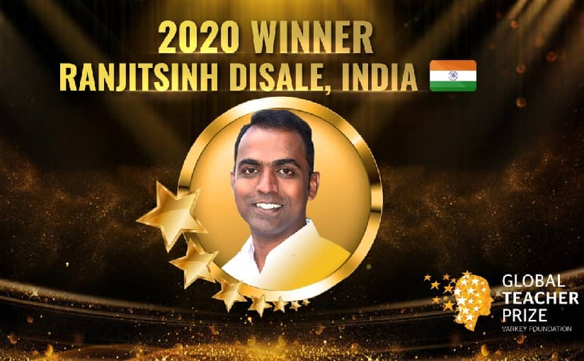 Who is Ranjeet Singh Disale? First Indian to win Global Teacher Prize worth $1 Million