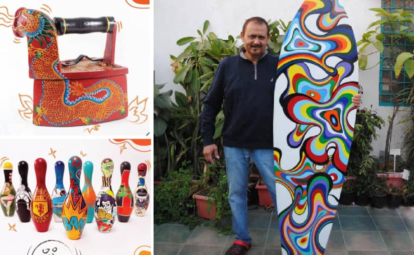 What is Jugaad Factory: Where Waste Materials are converted into New Artistic Home Decors.