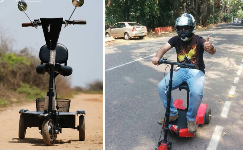Rejected by companies for disability, Naidhroven built a 'Special Scooter' for disabled people