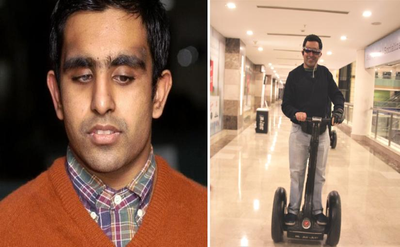 He is blind but a photographer. Read to know more about visually impaired Pranav Lal