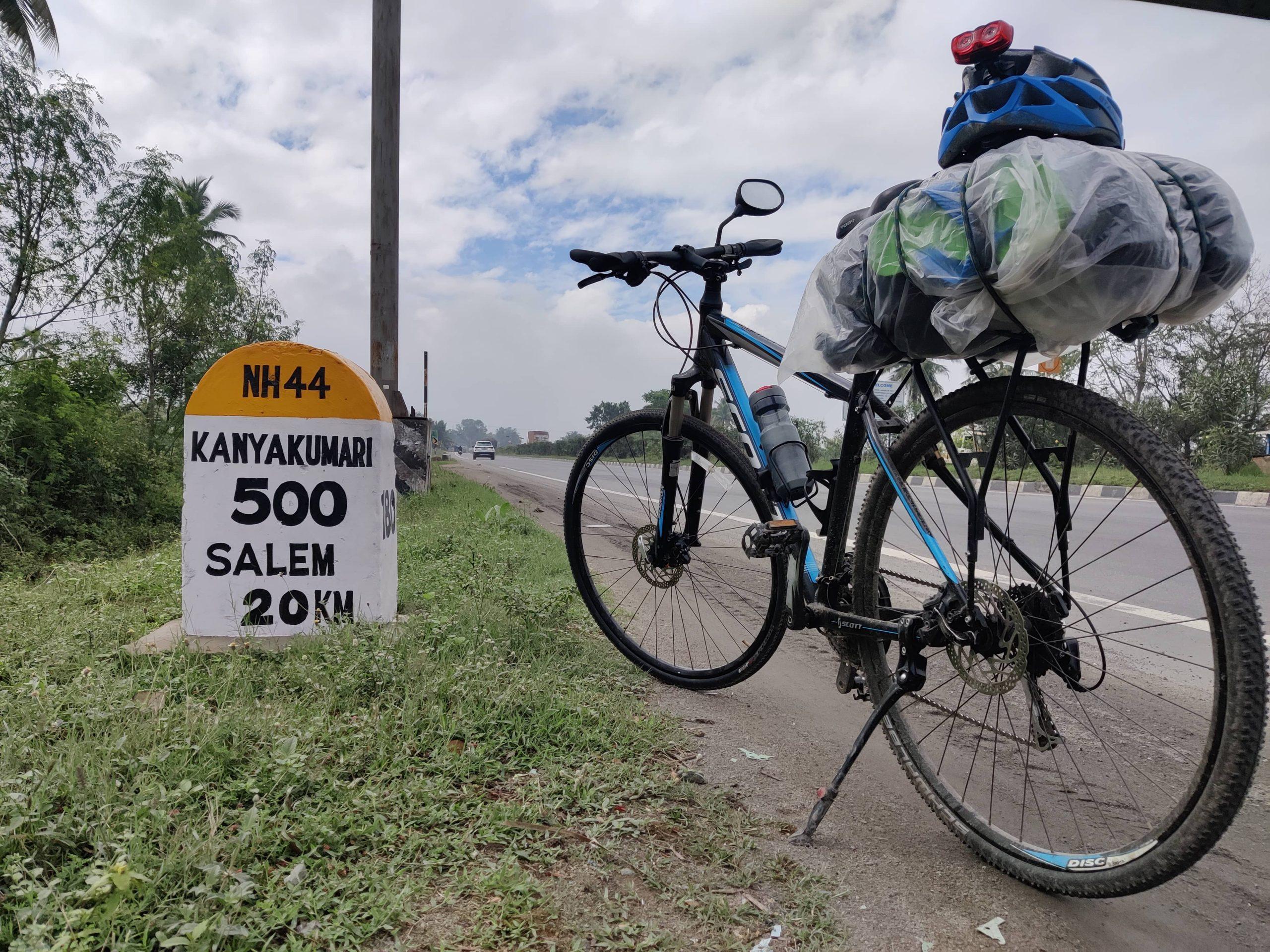 adventure cycling trip