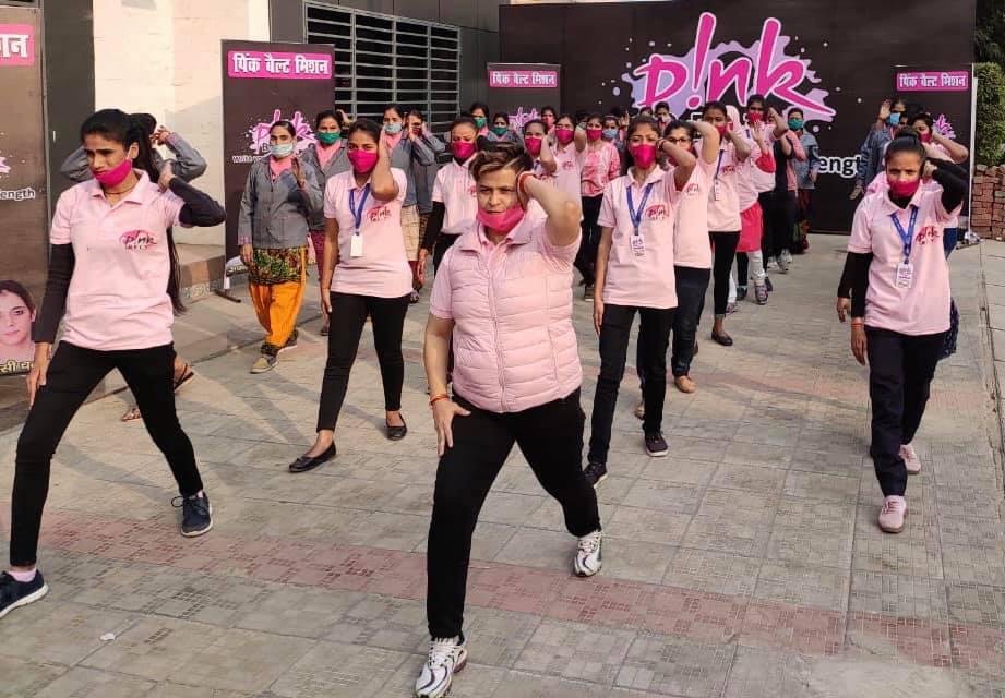 Pink Belt Mission