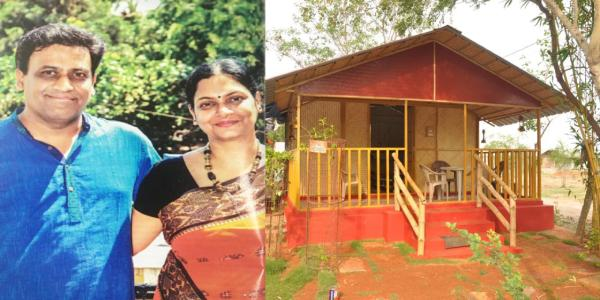 Bounce back story of Bamboo House India, Once in debt of 60 lakhs, Are now creating sustainable and eco-friendly bamboo homes