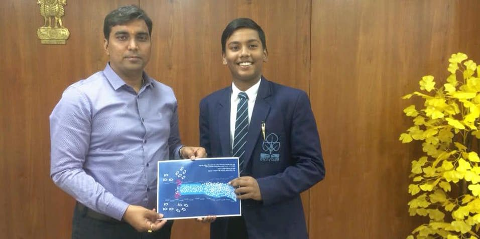 How at the age of 12, Varun Saikia created a machine (Makara), This innovation cleans out plastic waste from water bodies