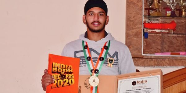 Kuwar Amritbir Singh becomes the youngest world record holder for maximum knuckle pushups in a minute