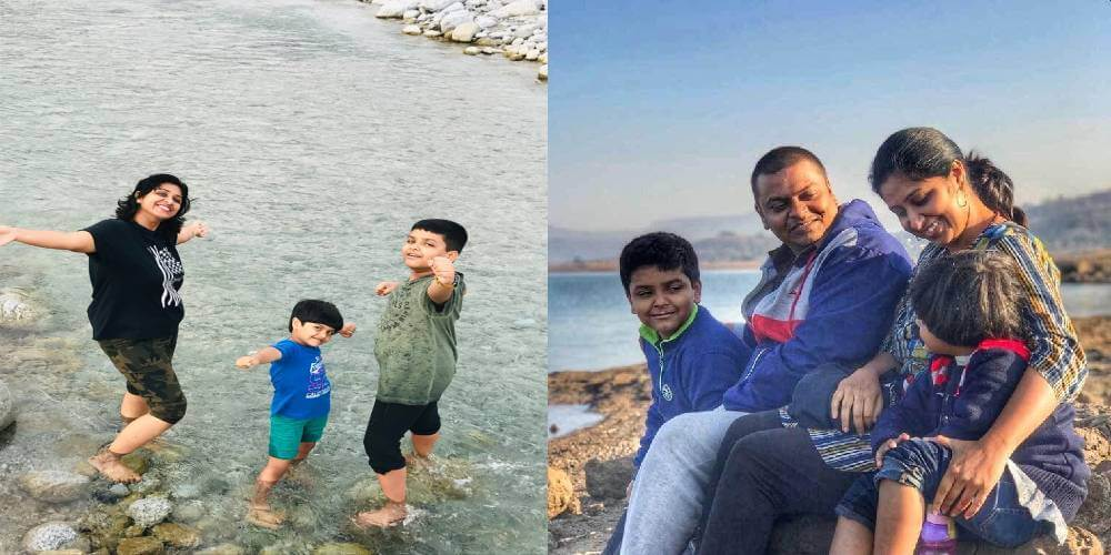 The inspiring story of the Iyer family living their life out of 4 suitcases – A family that chose to have a nomadic lifestyle