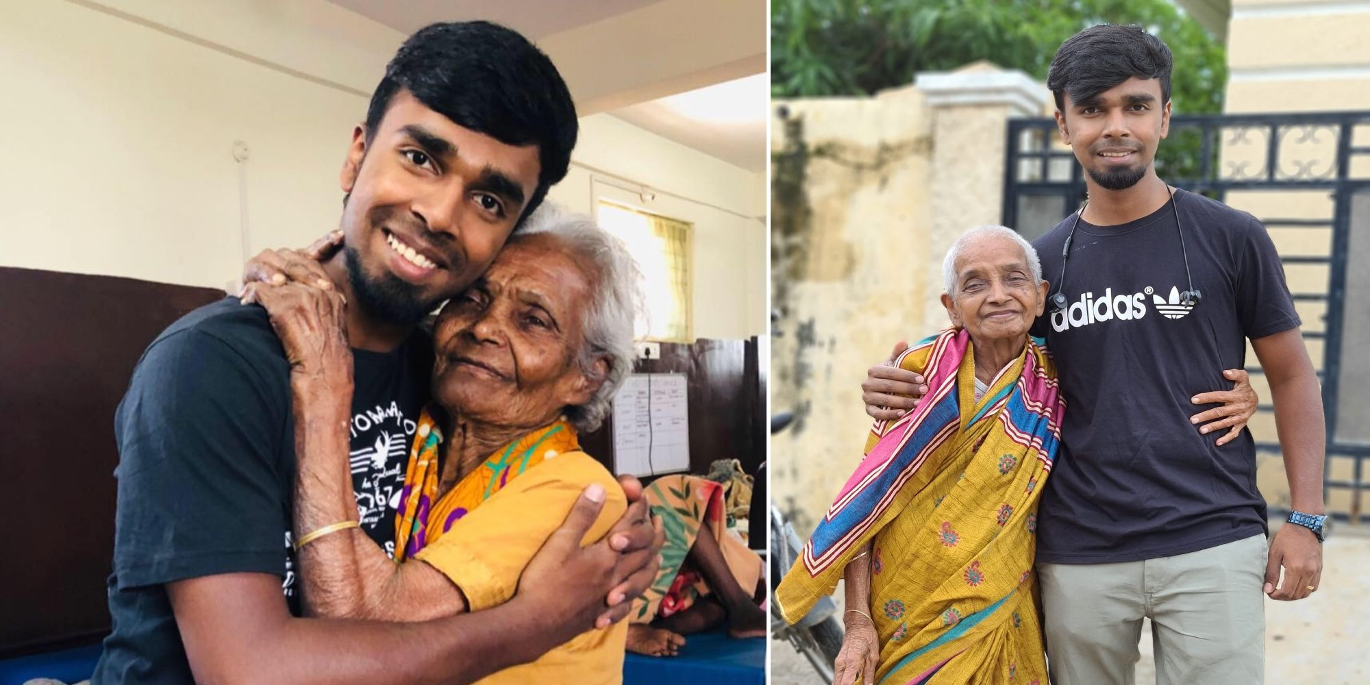 Jasper Paul – An inspiring story of a 19 year old guy from Hyderabad who rescues old people from roads via his NGO, The Second Chance