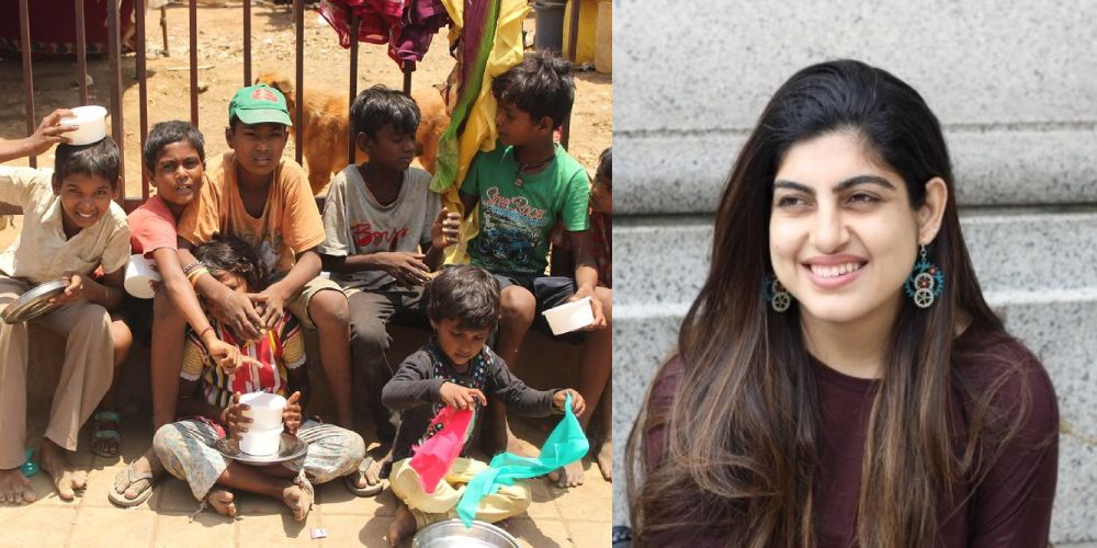 Sana Arora – Heartwarming story of a change-maker who has successfully fed over 1 lakh underprivileged kids