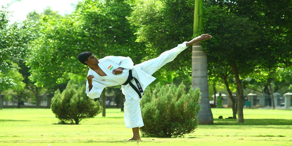 Sabari Karthik – An inspiring story of a karate champion beating all odds to fulfill his late father's dream