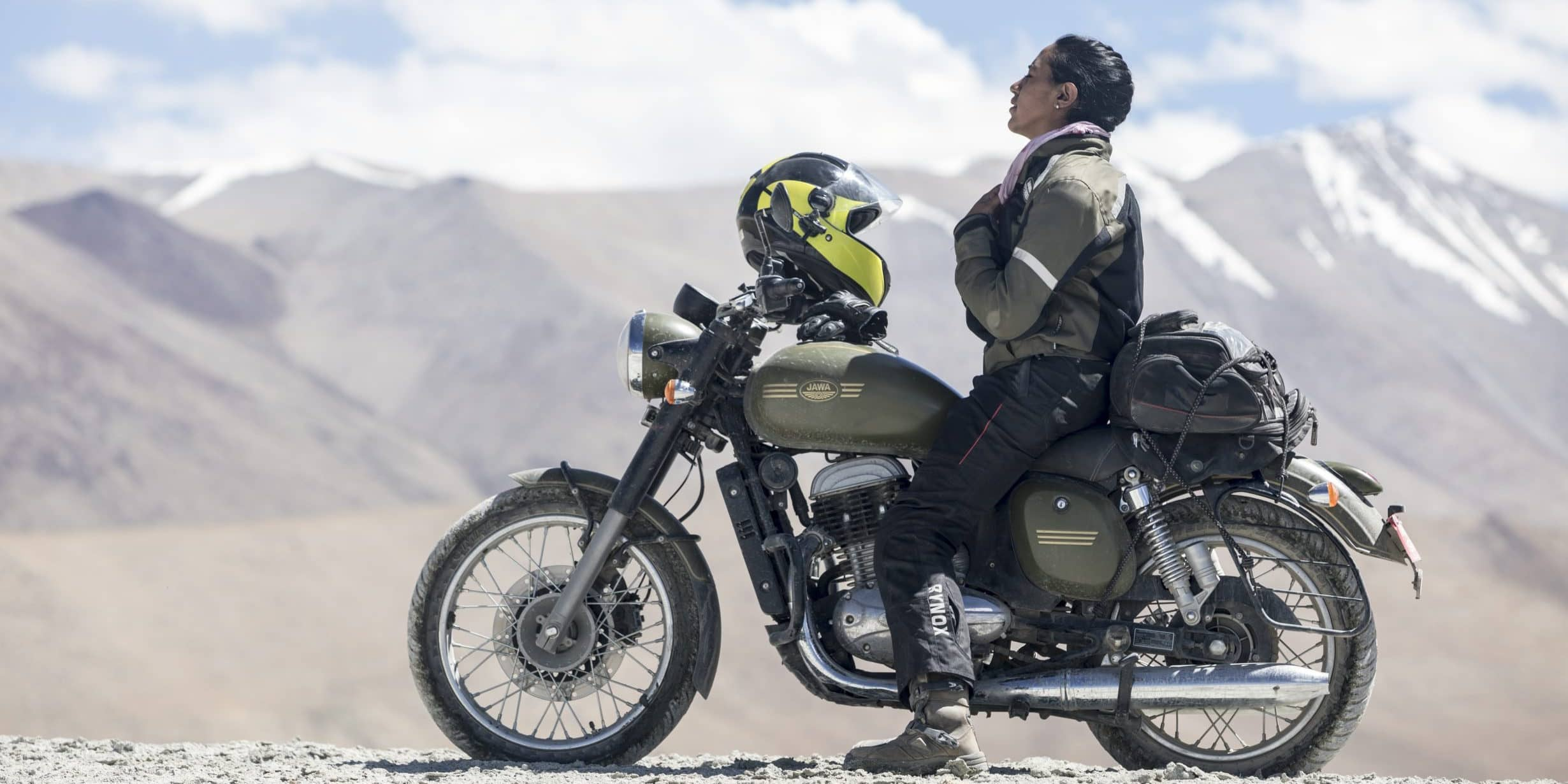 Candida Louis – An incredible story of a biker girl's solo trip from India to Australia