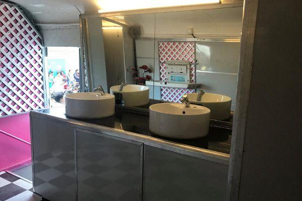 Pune bus toilets