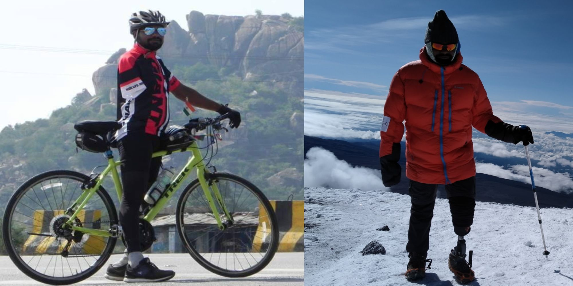 Shekar Goud – An inspiring story of India's first triple amputee to climb Mount Elbrus, the highest peak in Russia