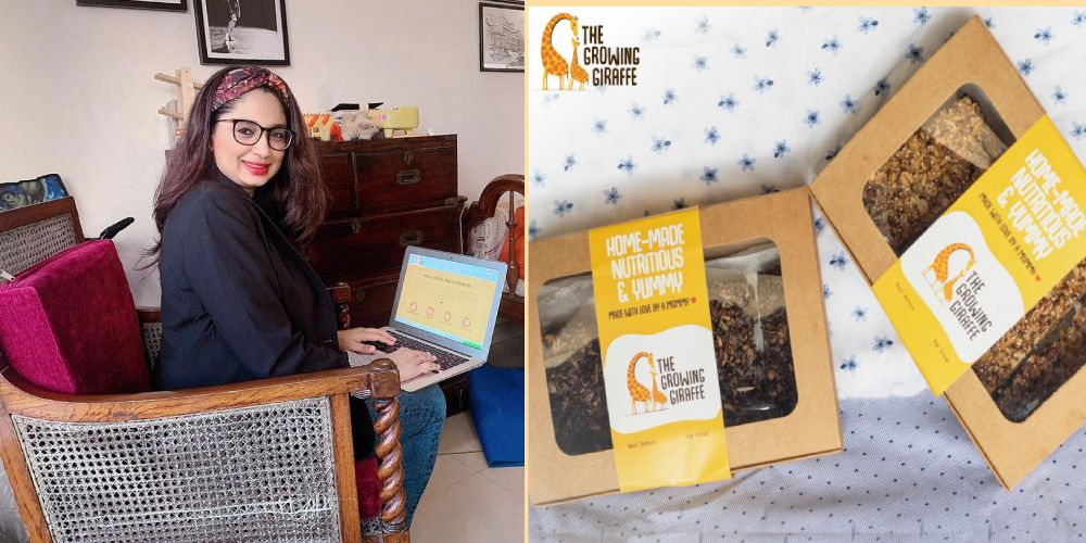 Rukmini Banerjee could not find healthy snacks for her kids, She launched 'The Growing Giraffe' – Snacks with No sugar, No artificial favors and No maida