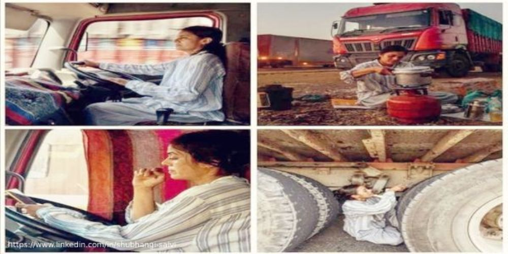 Yogita Raghuvanshi – India's first woman truck driver who's also a qualified lawyer
